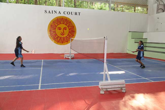 Badminton The Aryan School Dehradun
