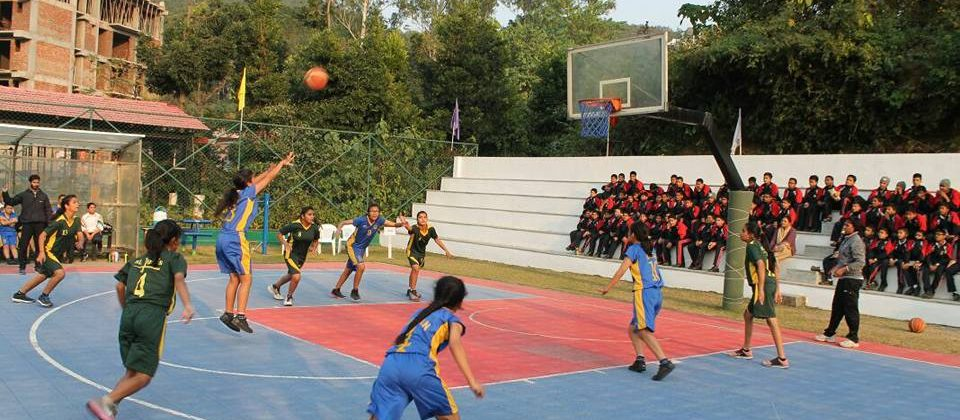 The Aryan School Basket Ball