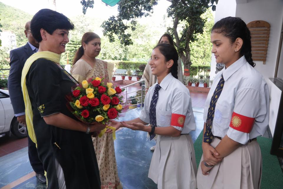 Investiture ceremony held at The Aryan School | THE ARYAN SCHOOL
